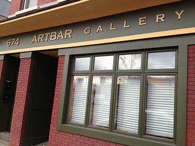 ARTBAR Gallery in Kingston NY