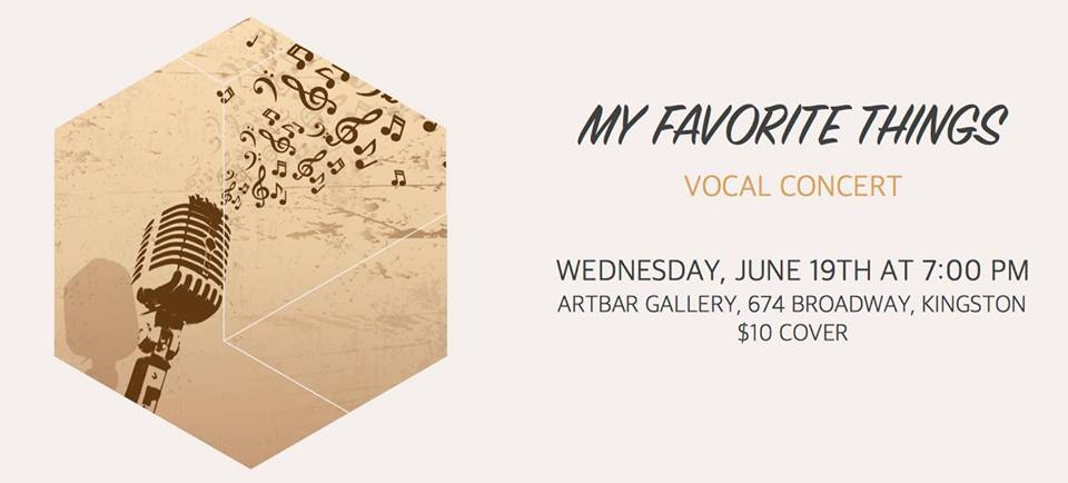 My Favorite Things – Vocal Concert