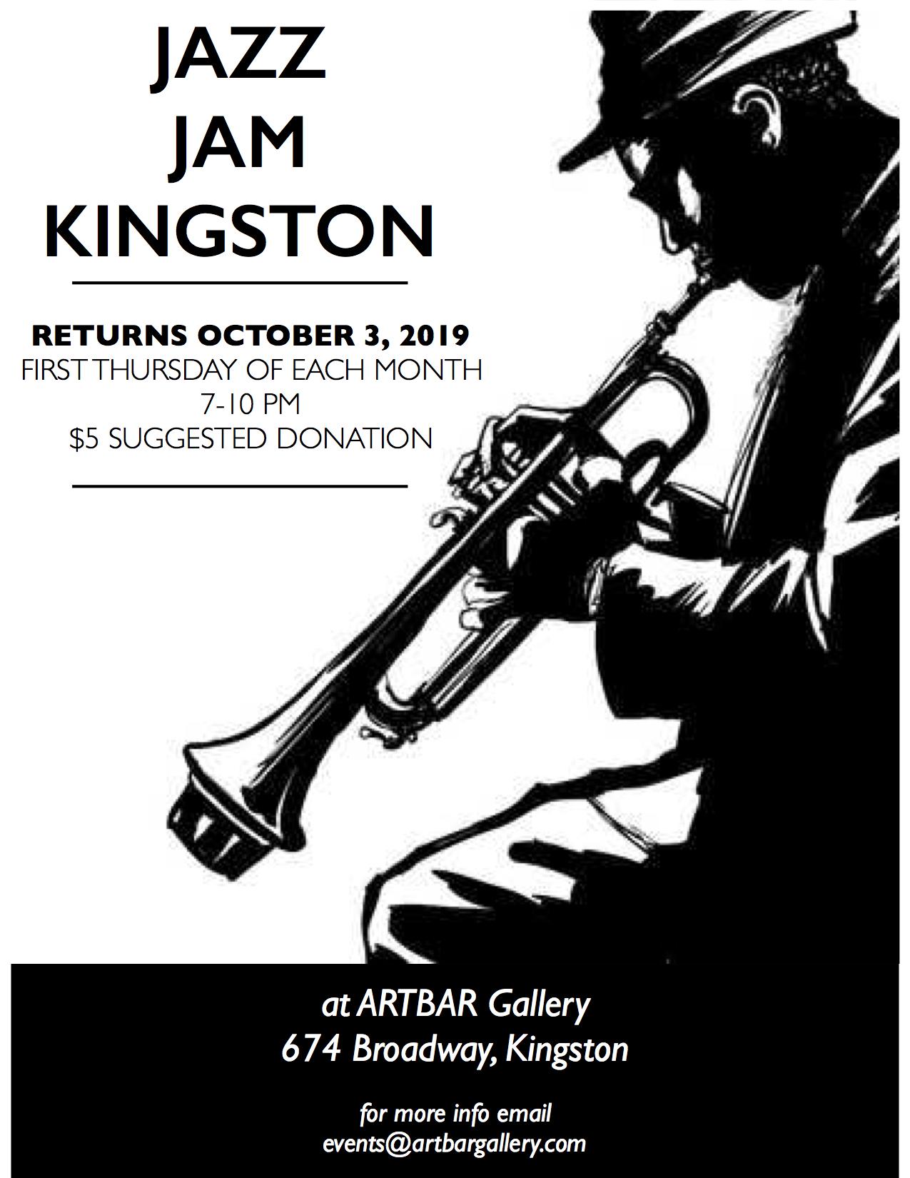 Jazz Jam Kingston Returns!!